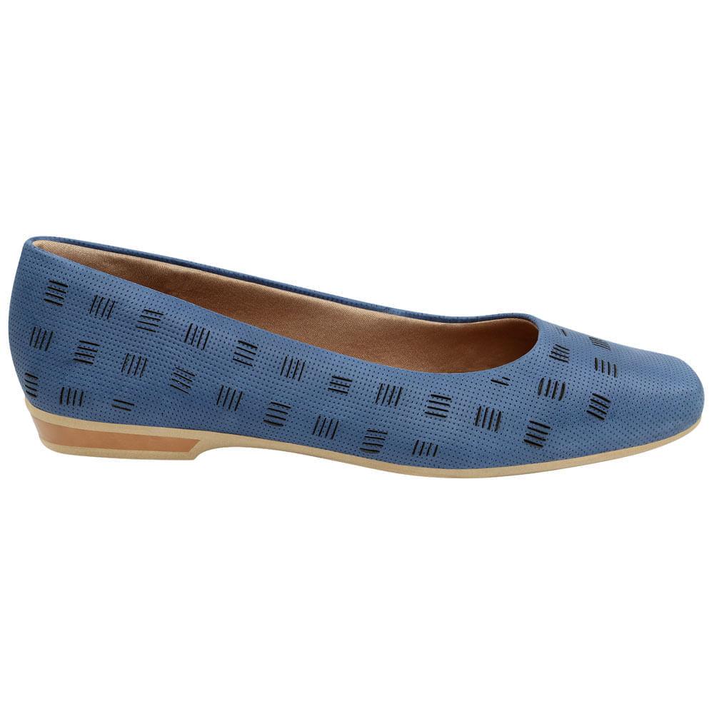 99f6b439b Sapatilha azul - Usaflex