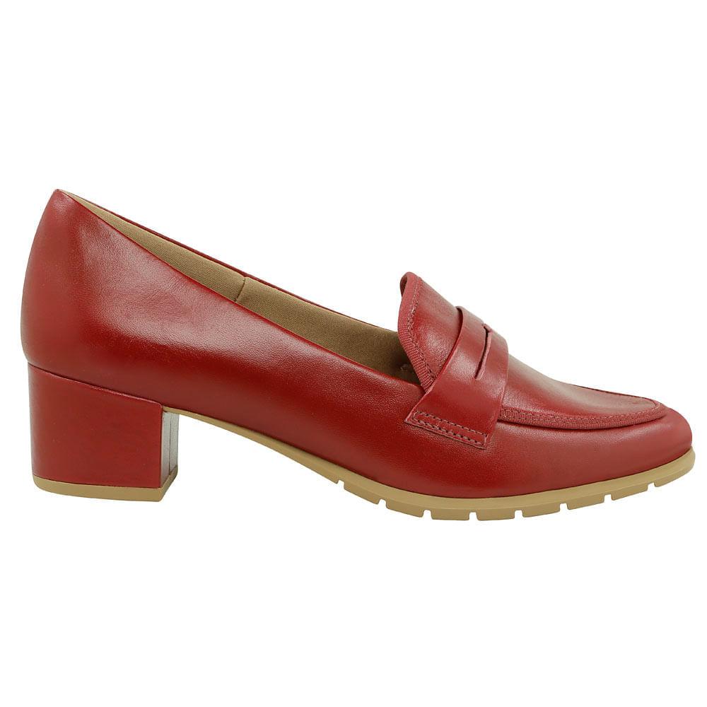 a5618ee9c1 Mocassim vermelho - Usaflex