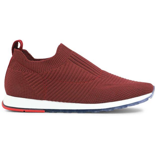 Tênis tricot vermelho 33