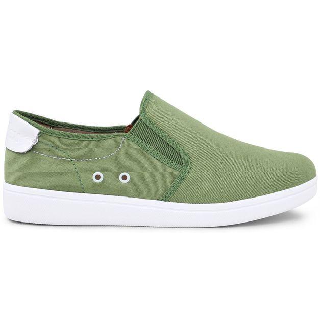 Tênis lona verde 33