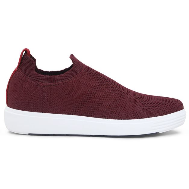 Tênis Sneaker Tricot Ameixa 33