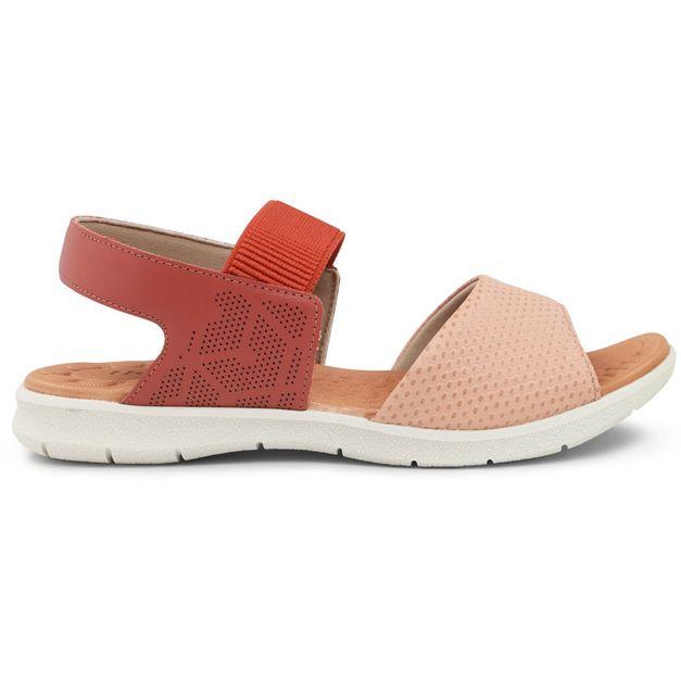 Sandália dou de cores com elástico 34