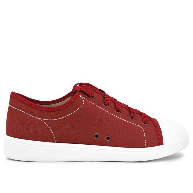 Tênis casual vermelho 33