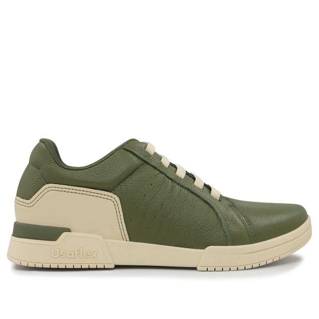 Tênis vintage verde militar 34