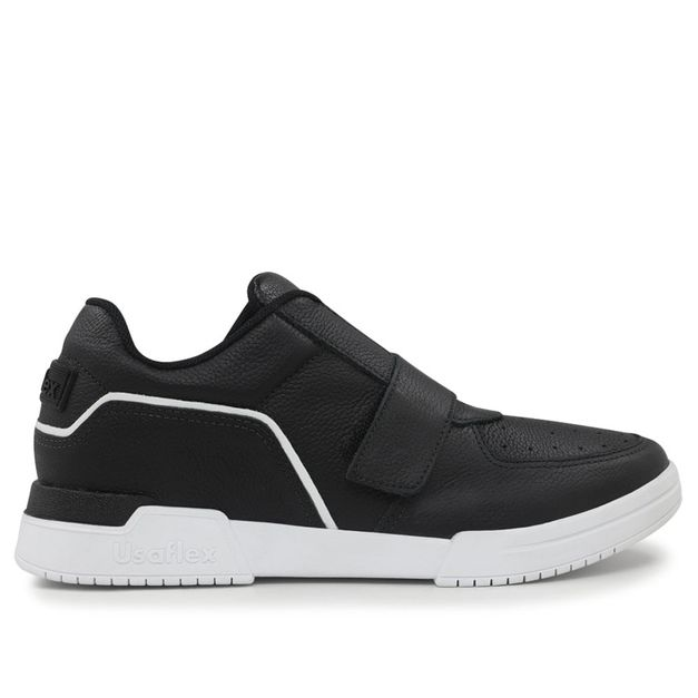 Sneaker preto velcro 33