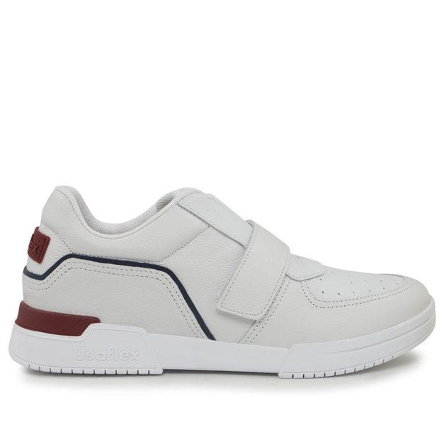 Sneaker branco velcro 33