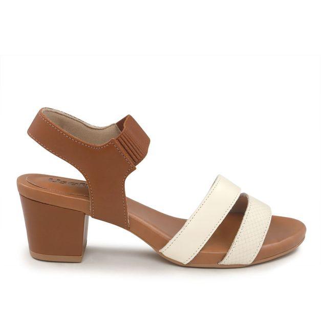 Sandália bicolor 34