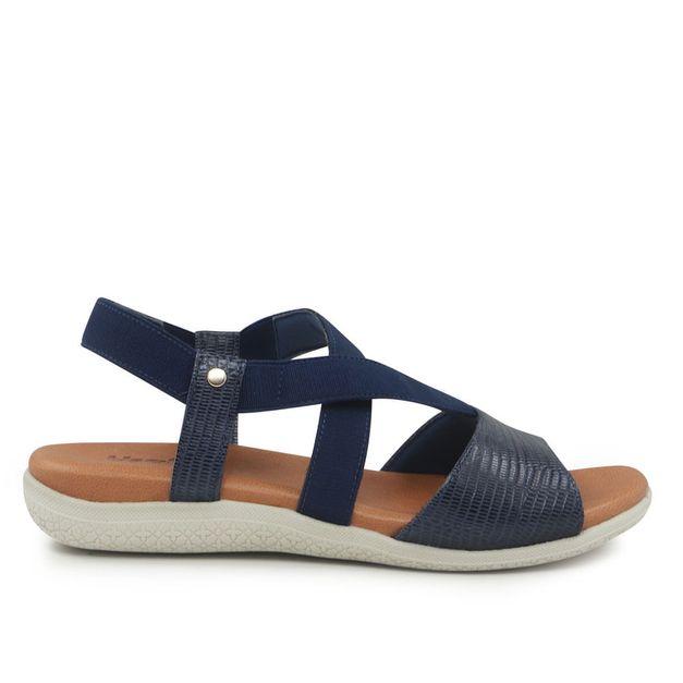 Sandália azul 34