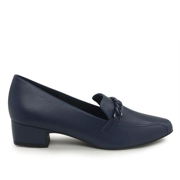 Slipper azul com corrente 34