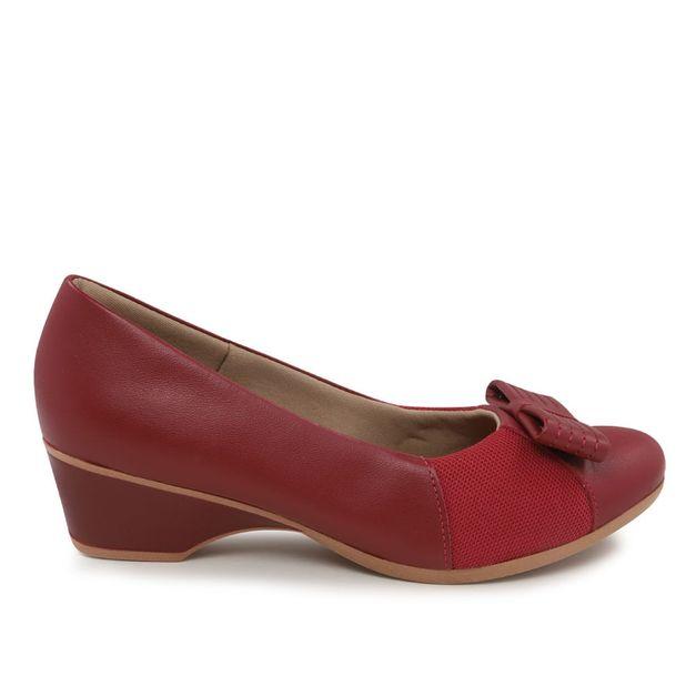 Scarpin joantes vermelho 34