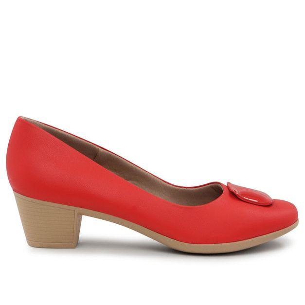 Scarpin vermelho 34