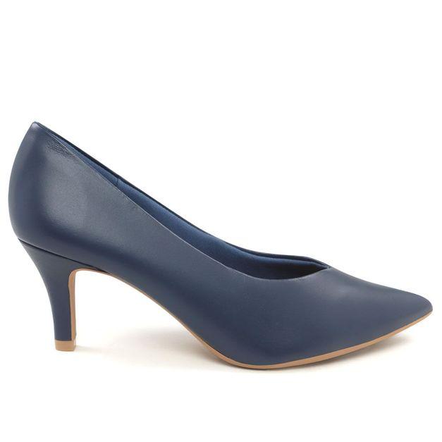 Scarpin azul 39