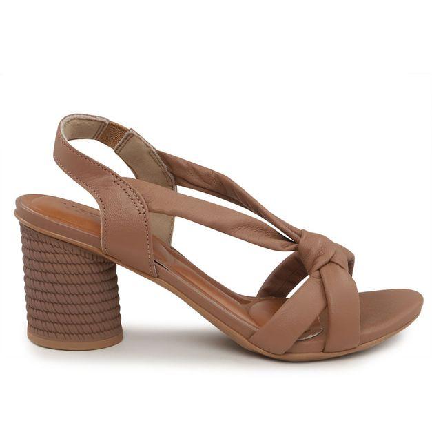 Sandália soft com nó 34
