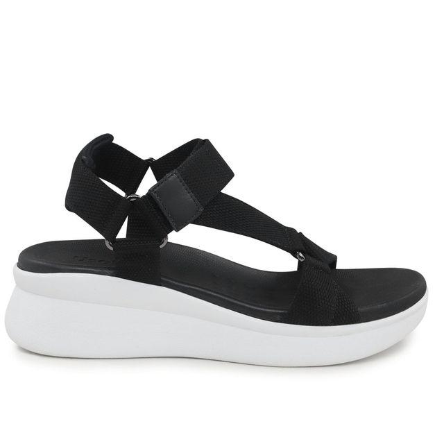 Sandália esportiva preta 34