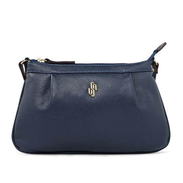 Bolsa tiracolo azul
