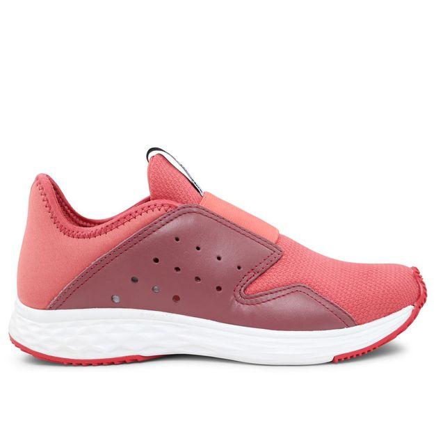 Tênis rosa com elástico Usa+leve Rainha 34