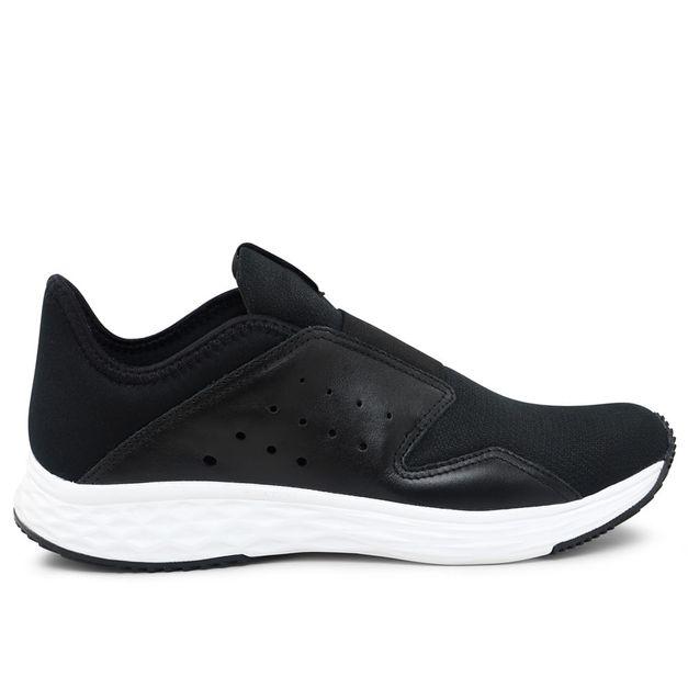 Tênis preto com elástico Usa+leve Rainha 34