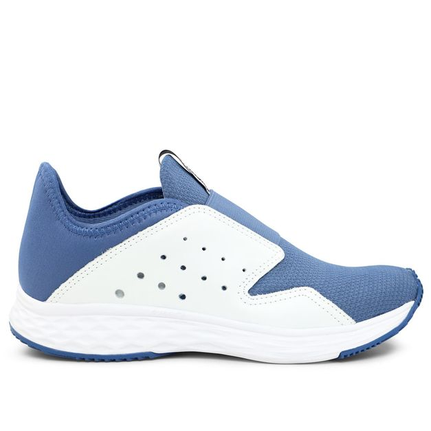 Tênis azul claro com elástico Usa+leve Rainha 35