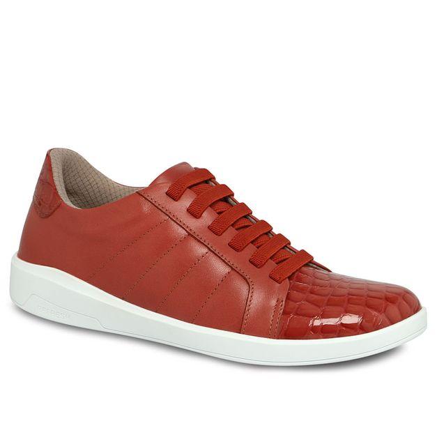 Tênis Refresh vermelho urucum 33