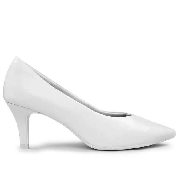 Scarpin branco RIGHT(P601,2)