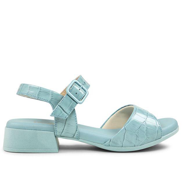 Sandália croco azul claro RIGHT(P536,2)