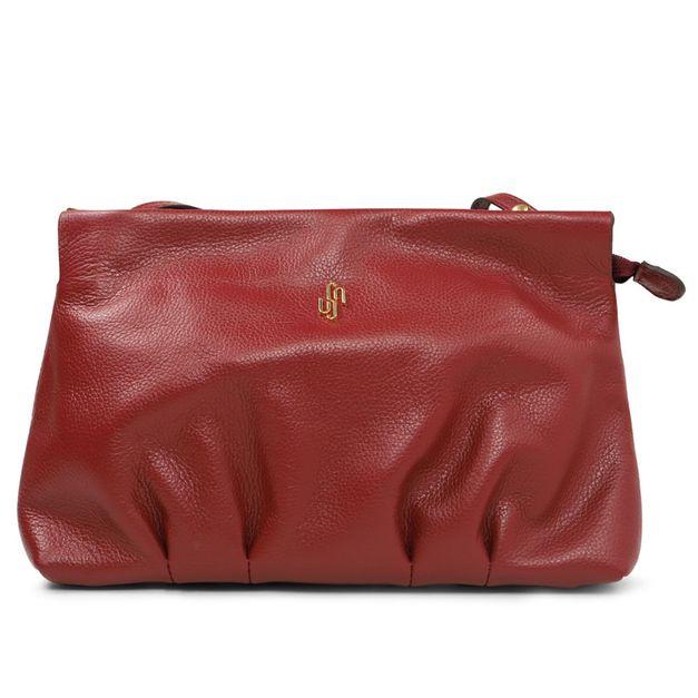 Bolsa tiracolo vermelha