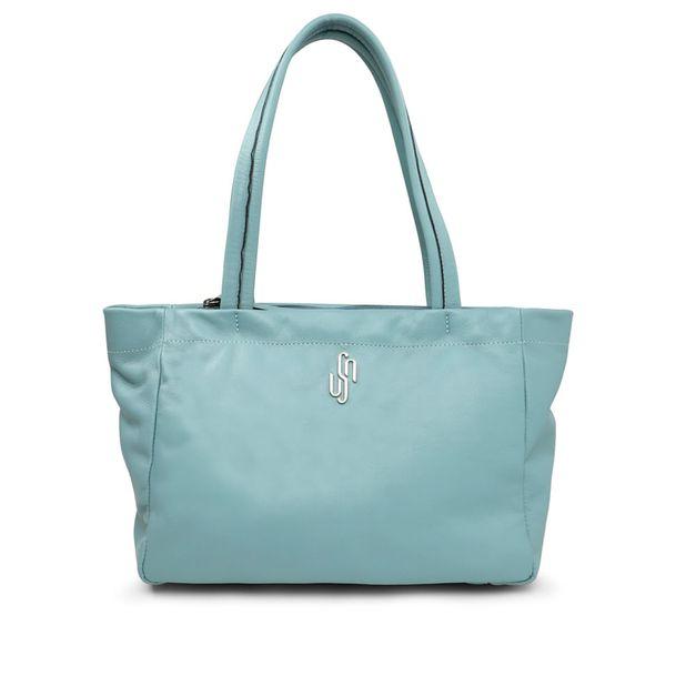 Bolsa shopper azul clara