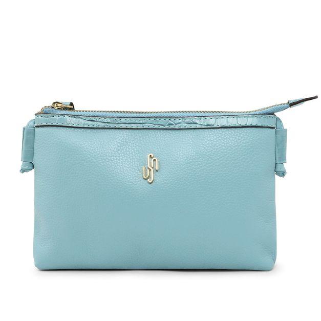 Bolsa tiracolo azul claro