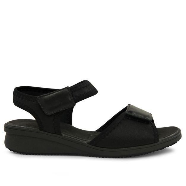 Sandália velcro preto 34