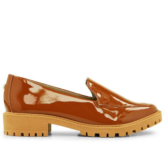 Loafer Tratorado Canela 33